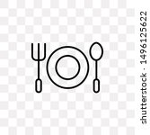 plate  fork and spoon icon...