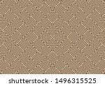 the geometric seamless pattern. ... | Shutterstock .eps vector #1496315525