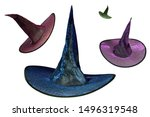 Multiple Wizard Witch Hat...