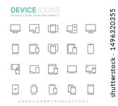 collection of device related...