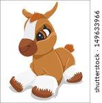 horse | Shutterstock .eps vector #149633966