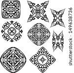 tattoo tribal design | Shutterstock .eps vector #149638736