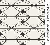 beautiful abstract illustration ... | Shutterstock .eps vector #1496409305