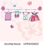 fashionable beautiful clothes... | Shutterstock .eps vector #149643602