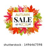 Seasonal Autumn Sale Banner...