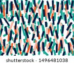 vector seamless background... | Shutterstock .eps vector #1496481038