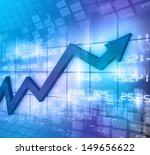 business arrow graph abstract... | Shutterstock . vector #149656622