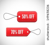 3d price tags | Shutterstock .eps vector #149658236