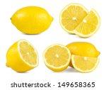 lemon set   Shutterstock . vector #149658365