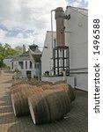 whisky barrels in scotland | Shutterstock . vector #1496588