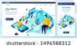 vector cross platform...   Shutterstock .eps vector #1496588312