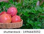 Ripen Passion Fruits Basket...