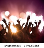 night party  festive background.... | Shutterstock .eps vector #149669555