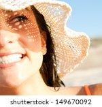 Close Up Portrait Of An...