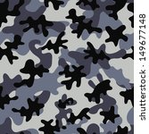 camouflage seamless pattern.... | Shutterstock .eps vector #149677148