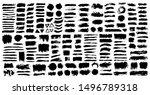 brush strokes. vector... | Shutterstock .eps vector #1496789318
