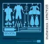 plastic model kits required set ... | Shutterstock .eps vector #149679155
