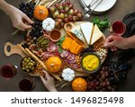 Fall Holidays Party Table With...