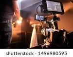Behind The Scenes Of Filming...
