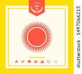 sun icon symbol. graphic... | Shutterstock .eps vector #1497066215
