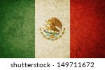 grunge flag of mexico | Shutterstock . vector #149711672