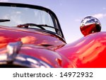 old classic red car   Shutterstock . vector #14972932