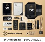 business company identity in... | Shutterstock .eps vector #1497295328