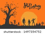 Halloween Illustration Flat...