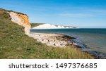 The Seven Sisters Chalk Cliffs  ...