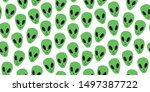 childish seamless pattern with... | Shutterstock .eps vector #1497387722
