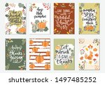 collection of hand drawn vector ... | Shutterstock .eps vector #1497485252