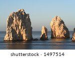 land's end  rock formation in...   Shutterstock . vector #1497514