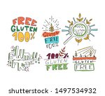 bright banner sketch set... | Shutterstock .eps vector #1497534932