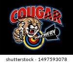 Cougar Archery Team Design Wit...