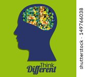 think different design over... | Shutterstock .eps vector #149766038