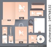 stationery set design  ... | Shutterstock .eps vector #149768132