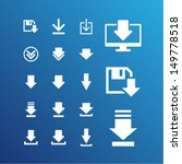 download icons for website | Shutterstock .eps vector #149778518