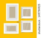 picture frames  photo art... | Shutterstock .eps vector #149794925