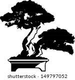 black tree silhouette   Shutterstock .eps vector #149797052
