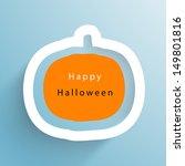 Happy Halloween Concept With...