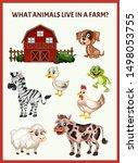 children educational game. what ...   Shutterstock .eps vector #1498053755