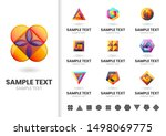 modern shape vector for banner  ... | Shutterstock .eps vector #1498069775