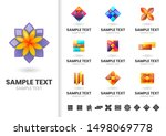 modern shape vector for banner  ... | Shutterstock .eps vector #1498069778