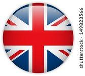 united kingdom flag glossy...   Shutterstock . vector #149823566