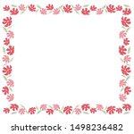 illustration of cosmos flower... | Shutterstock .eps vector #1498236482