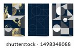 templates with elegant... | Shutterstock .eps vector #1498348088