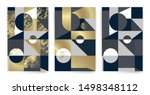 templates with elegant... | Shutterstock .eps vector #1498348112