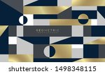 abstract background with... | Shutterstock .eps vector #1498348115