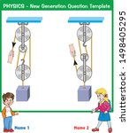 physics  simple machines ... | Shutterstock .eps vector #1498405295