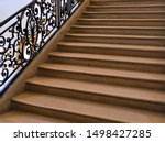 Various Stairs In Paris France...